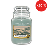 Vonná svíčka Yankee Candle 623 g - Misty mountains