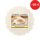 Vonný vosk Yankee Candle 22 g - Spiced white Cocoa