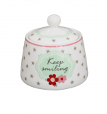 "Porcelánová cukřenka ""Keep smiling"""