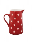 "Porcelánový džbán ""Red Stars"" 1100 ml"