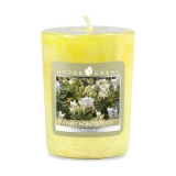 Votivní vonná svíčka Goose Creek Candle Sweet Honeysuckle 49g