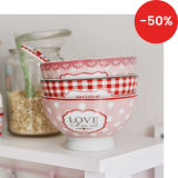 Porcelánová miska Love is all you need 400 ml