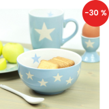 Porcelánová miska Light blue stars 400 ml