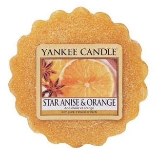 Vonný vosk Yankee Candle 22 g - Star anise & orange