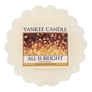 Vonný vosk Yankee Candle 22 g - All is bright