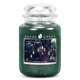 Vonná svíčka Goose Creek Candle Moment it time- velká