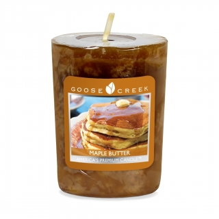 Votivní vonná svíčka Goose Creek Candle Maple butter 49g