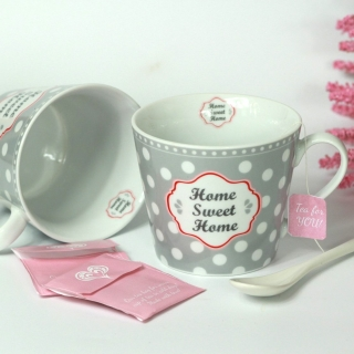 Porcelánový hrnek Home sweet home 350 ml
