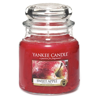 Vonná svíčka Yankee Candle 410 g - Sweet apple